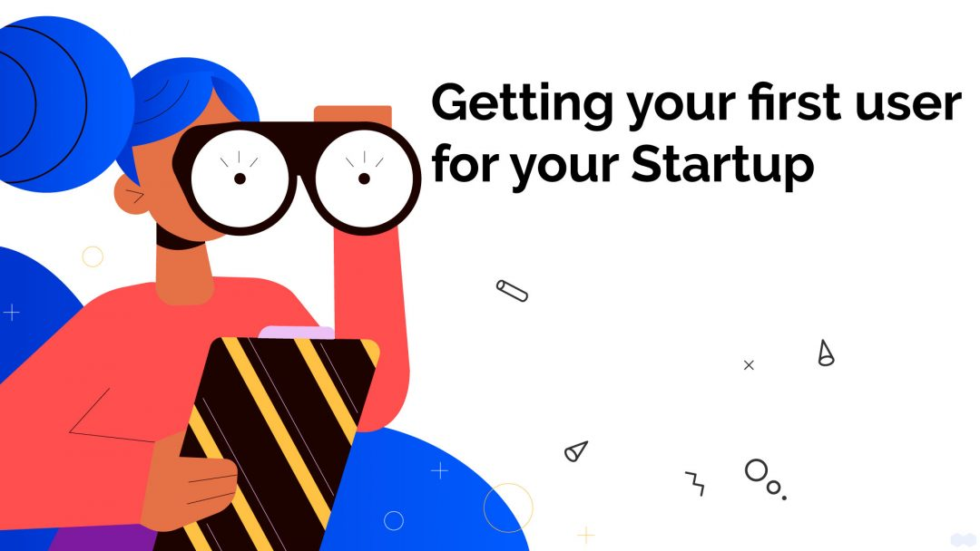 Getting users for startup